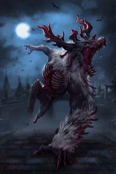 ArtStation - Cleric Beast (Bloodborne Fanart), Plutus Su