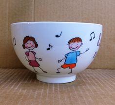 Ajándék énektanárnak #ballagás #ének #tanár #HandPainted Tableware, Dinnerware, Tablewares, Place Settings
