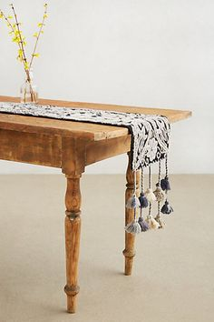 Night Blossom Table Runner #anthropologie