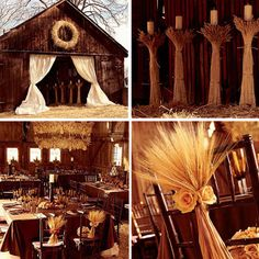 One day.. if I ever get married.. We will just grow a whole field of wheat so that I will have decorations for my wedding. :)