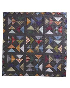 Flannel Quilts, Plaid Quilt, Scrappy Quilts, Flying Geese Quilt, Memory Quilts, Quilting Thread, Book Quilt, Shirt Quilt