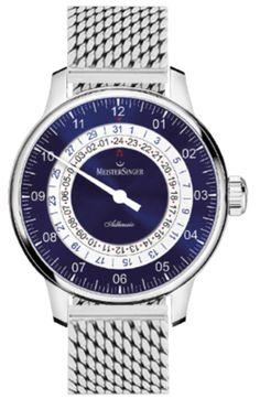 81f5f436995 MeisterSinger Watch Adhaesio Milanaise Bracelet  add-content  bezel-fixed…  Luxusné Hodinky