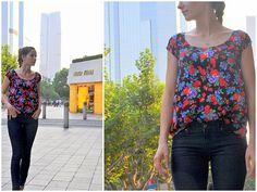 cute top! #shirt #sewing #fashion