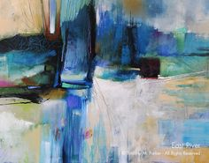 Abstract Contemporary Painting - Artist Tim Parker