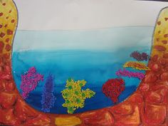 Once upon an Art Room: Coral Reefs