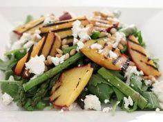 Peach, Asparagus and Feta Salad Recipe