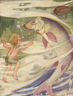 Water Babies illustration, Anne Anderson