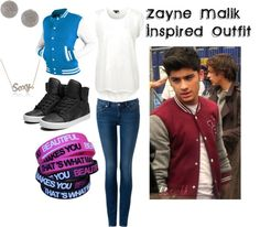 \u0026quot;Zayn Malik Inspired Outfit\u0026quot; by sortarican829 on Polyvore