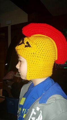 Senators crochet hat