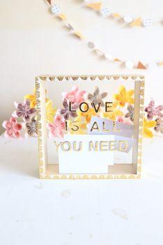DIY Mariage : La vitrine livre d'or