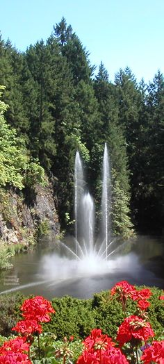 Butchart Gardens - Botanical Gardens- in Brentwood Bay - British Columbia near Vancouver | Canada