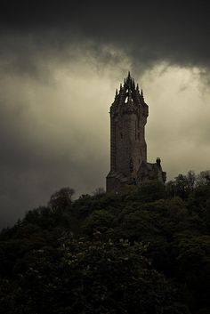 Wallace Monument, Scotland - Wondered what this was when I saw it in Scotland, can't believe I just happened across the picture.