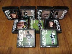 Personalized LARGER Photo Blocks- set of 9 Letter Blocks for your BASEBALL TEAM Coach TEAM MoM. $112.50, via Etsy.