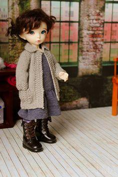 Littlefee Double-Breasted Jacket by Atelier Randomfish