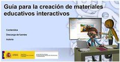 Guía para la creación de materiales educativos interactivos Web 2, Education And Training, Learning, Memes, Diy, Future Gadgets, Do It Yourself, Bricolage, Teaching
