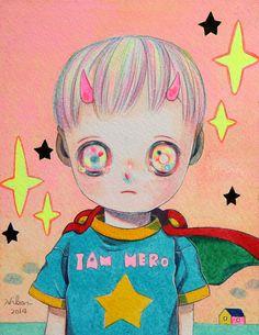 Camilla d'Errico / Hikari Shimoda: Niji Bambini show @ Cotton Candy Machine 10.10.14