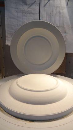 modelo y molde de plato para estek