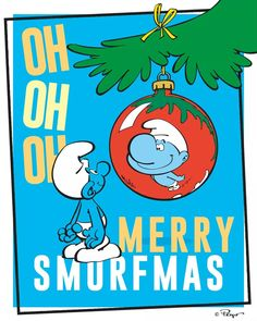 Merry Christmas, Blue Magic, Yule, Smurfs, Comic Books, Comics, Instagram, Sayings, Quotes