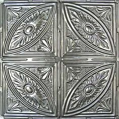 This pattern but in copper.  I want a copper kitchen and ceiling tiles might be really unique and awesome!