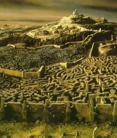 """The labyrinth from """"The Labyrinth"""""""