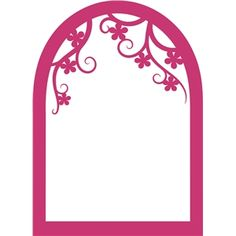 Silhouette Design Store: arched window frame