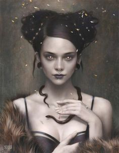 'Cleo' by Tom Bagshaw
