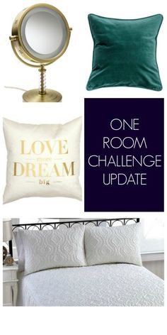 One Room Challenge Update - What I've Bought and What I'm Buying -