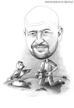 Karykatura pomysł na prezent dla męża