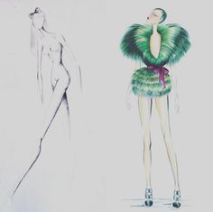 #fashion #fashionillustration #fashionillustrator #illustration #fashionart #style #art #drawing #artist #instaart #instaartist #karenwolf #karenushka #karenwolfillustrations #inspiration