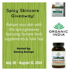 Spicy Skincare Giveaway http://www.heartofaphilanthropist.com/kims-blog-stuff/spic-skincare-giveaway