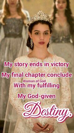 Amen. Daughter of God. His princess.