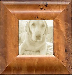 Wide Maple Burl Traditional Photo Frame.jpg