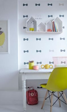 tienda online telas & papel | Papel pintado lazos rosas