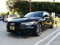 Phantom Black 2014 Audi A6 TDI quattro on Titanium. Quattro + TDI + Titanium = Win. www.KeyesAudi.com