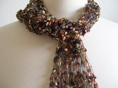 I just listed  Brown and Gold Skinny Scarf  on The CraftStar @TheCraftStar #uniquegifts