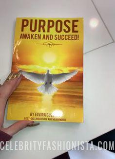"Khloe Kardashian on Snapchat Jan 31, 2017, showing the book ""Purpose - Awaken and Succeed"" by Elvira Guzman. #style #celebstyle #book #snapchat"