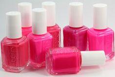 Love Essie nailpolish! Especially pink!!