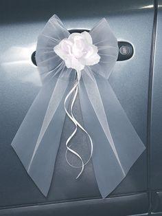 Toute la décoration de voiture de mariage - La Fée Décoration
