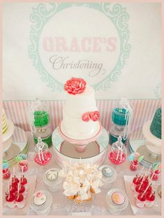 Pretty as a Picture! {Grace's Christening}