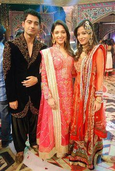 Harshika with Tammana Secret Love, Bollywood Celebrities, Best Couple, Superstar, Actors & Actresses, Wedding Planner, Prince, Sari, Indian
