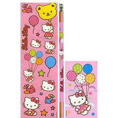 Hello Kitty Party Stationery Set