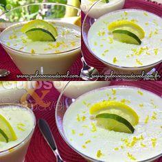 Esta delicia de Mousse de Limão com Iogurte foi feita com leite condensado caseiro e sem gelatina! Bora fazer esta delicia?  #Receita no link: http://www.gulosoesaudavel.com.br/2013/08/16/mousse-limao-iogurte/