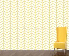Herringbone Allover 2 Wallpaper - Living Room Wall Decors Removable Fabric or Vinyl Wall Decors Custom Colors Just Peel and Sticker prt0049 by PopDecors on Etsy https://www.etsy.com/listing/235895412/herringbone-allover-2-wallpaper-living