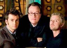 Yes, it's a great picture, but click on the link to read a very well thought-out article on the Mastery that is Russell T. Davies. And NO, it is not in anyway besmirching Moffatt.