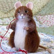 """Sewing mouse. Купить Мышь и сыр """"еще кусочек и всё, честно"""" - мыши, сыр, любителям сыра"""