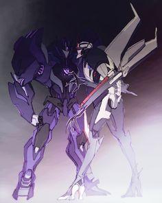 Gladiator Soundwave vs Starscream from Transformers Prime