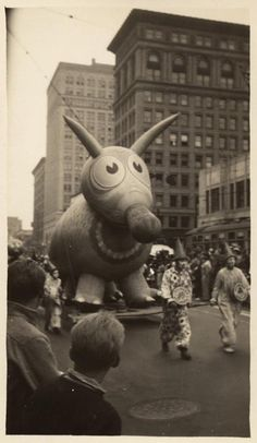Parade Down Broadway of Gilmore Oil Company's Traveling Circus, Oakland, CA, (between 1929 and 1939). Orville T. Blake, photographer For more great photos, check out our picture collections!