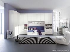 Camera Dream armadio ponte matrimoniale - DIOTTI A&F Arredamenti