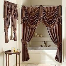Love the double shower curtain idea!