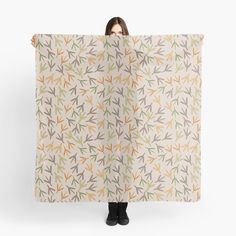 """""""Bird foot print"""" Scarf by Mandsred1 